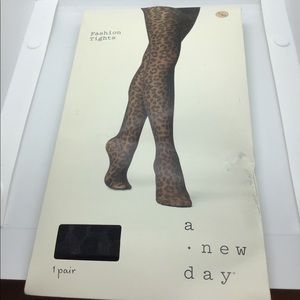 A New Day - Fashion Tights - Size XL - Black